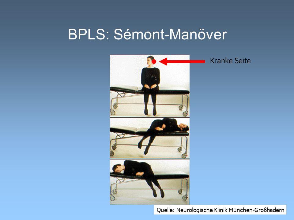 BPLS: Sémont-Manöver Kranke Seite