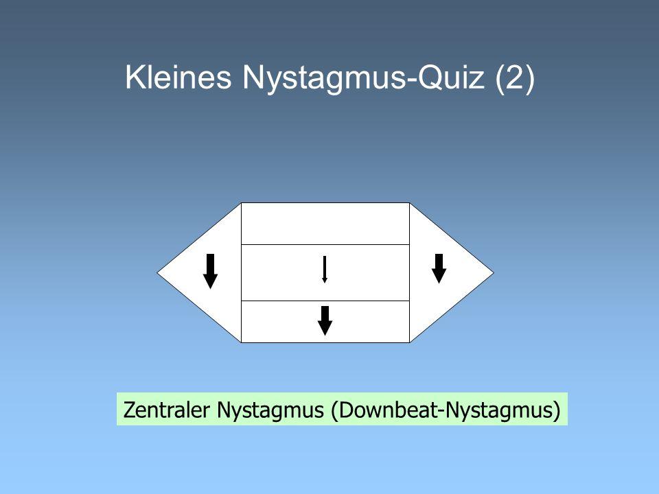 Kleines Nystagmus-Quiz (2)