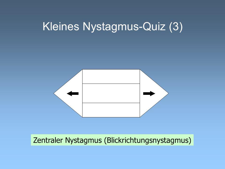 Kleines Nystagmus-Quiz (3)