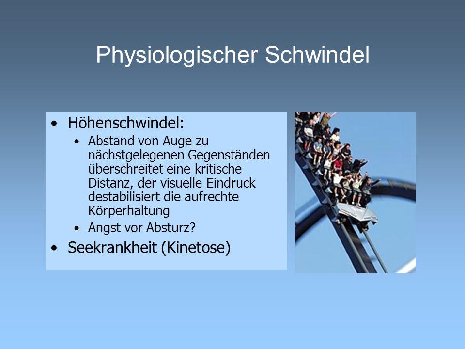 Physiologischer Schwindel