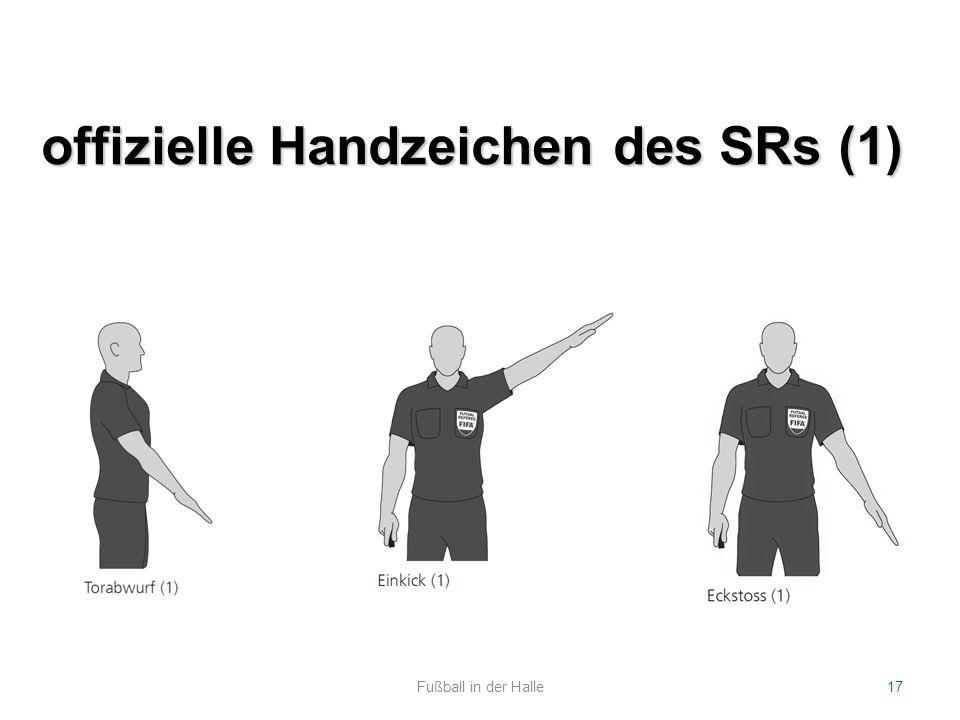 offizielle Handzeichen des SRs (1)