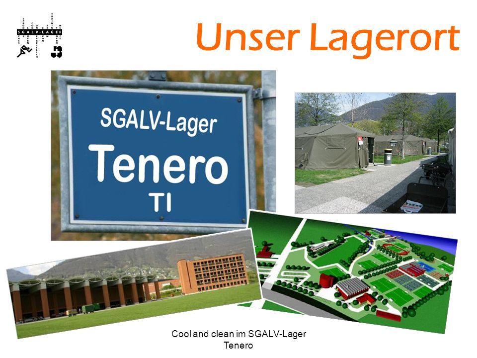 Cool and clean im SGALV-Lager Tenero