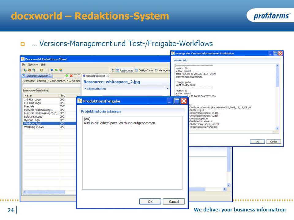 docxworld – Redaktions-System
