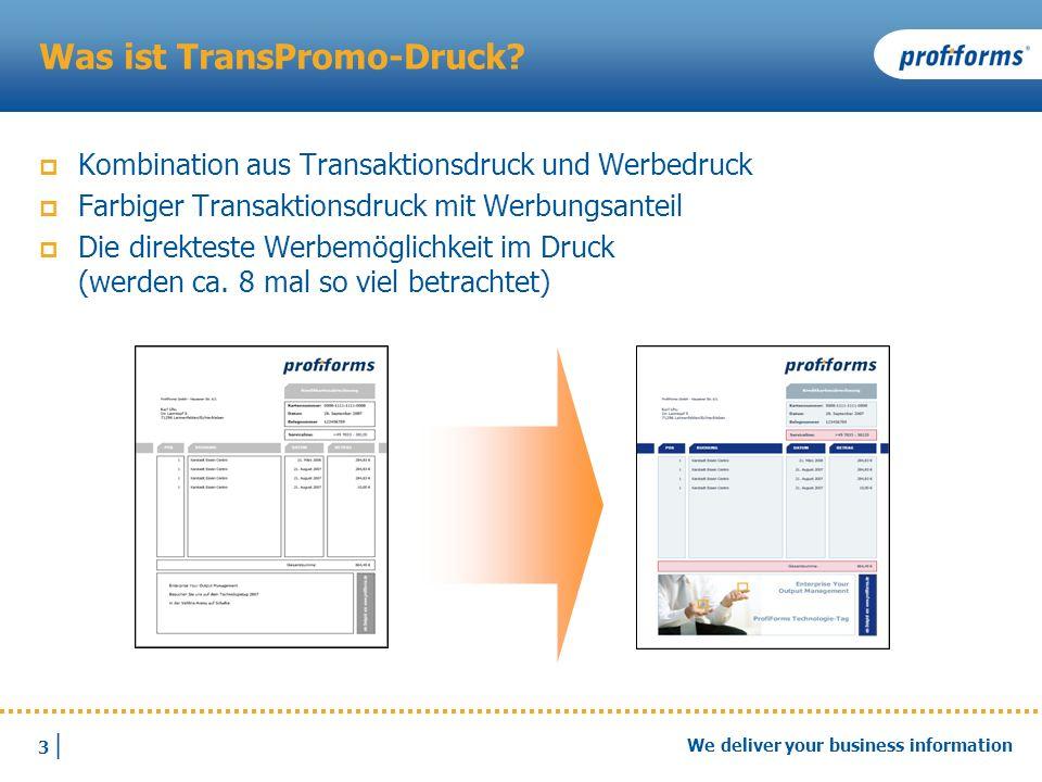Was ist TransPromo-Druck