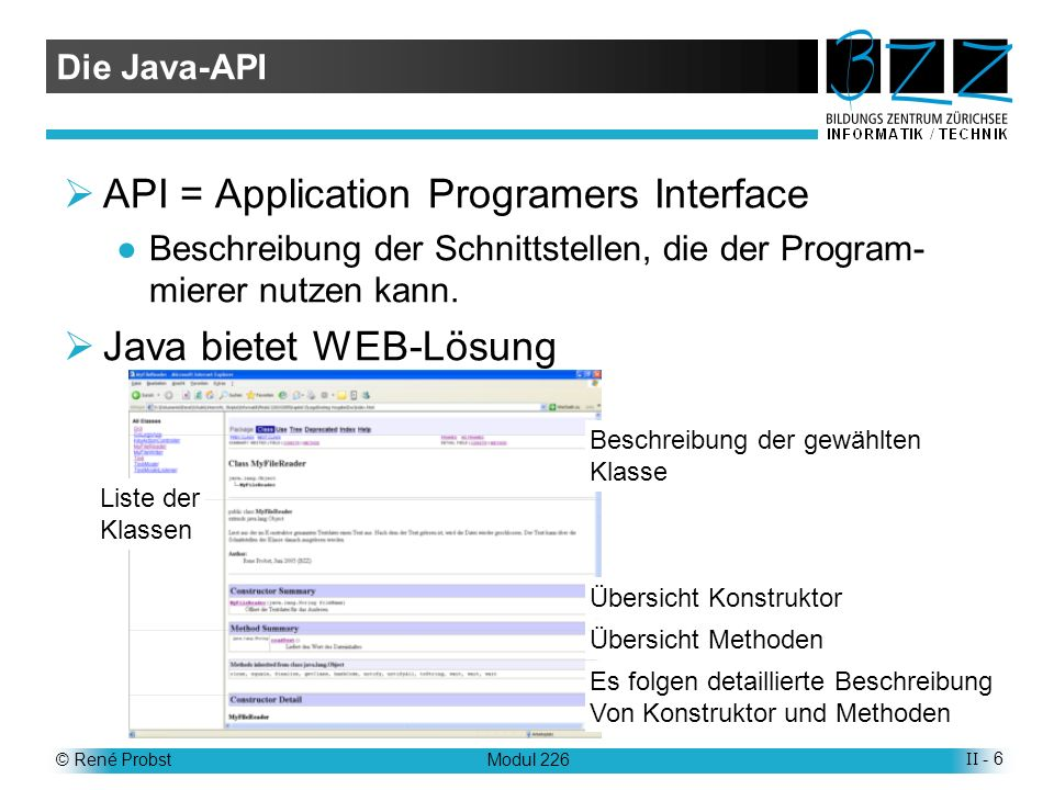 API = Application Programers Interface