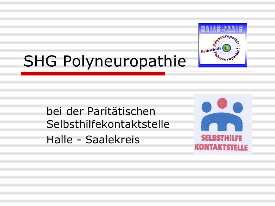 bei der Paritätischen Selbsthilfekontaktstelle Halle - Saalekreis