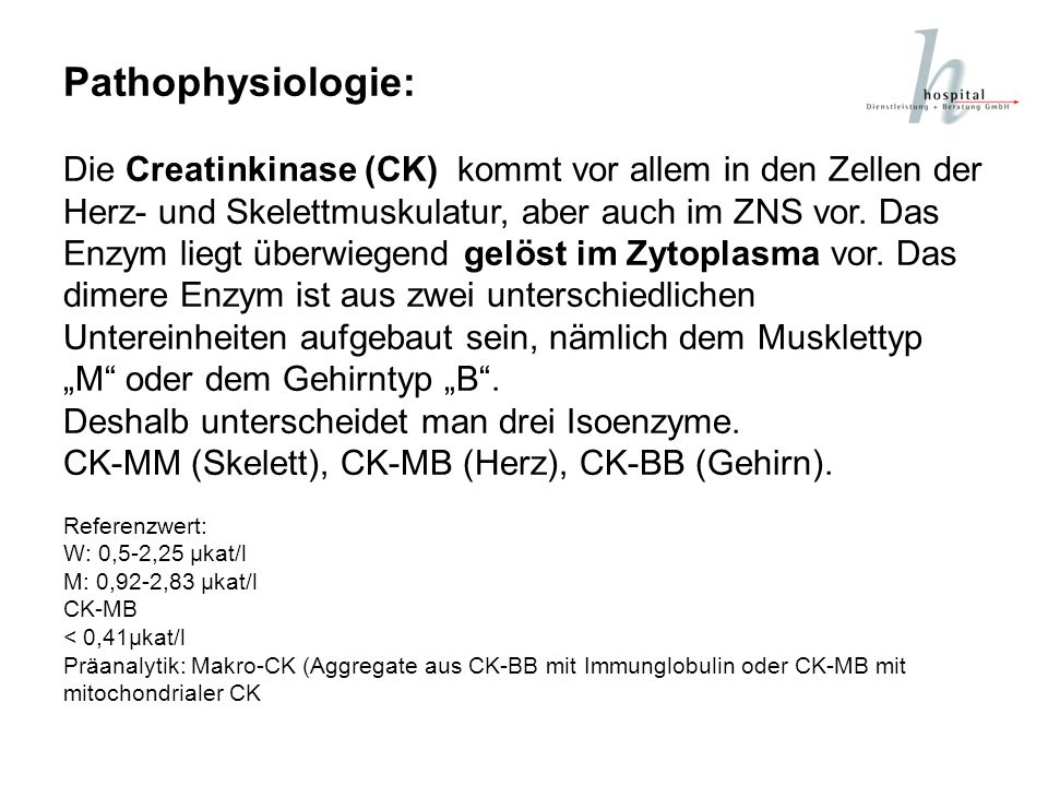 Pathophysiologie:
