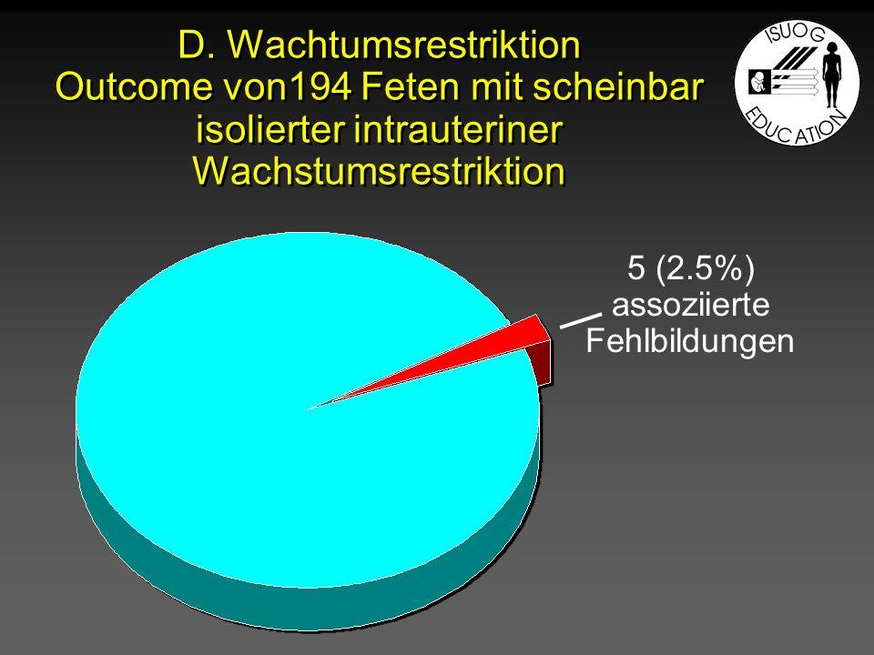 5 (2.5%) assoziierte Fehlbildungen