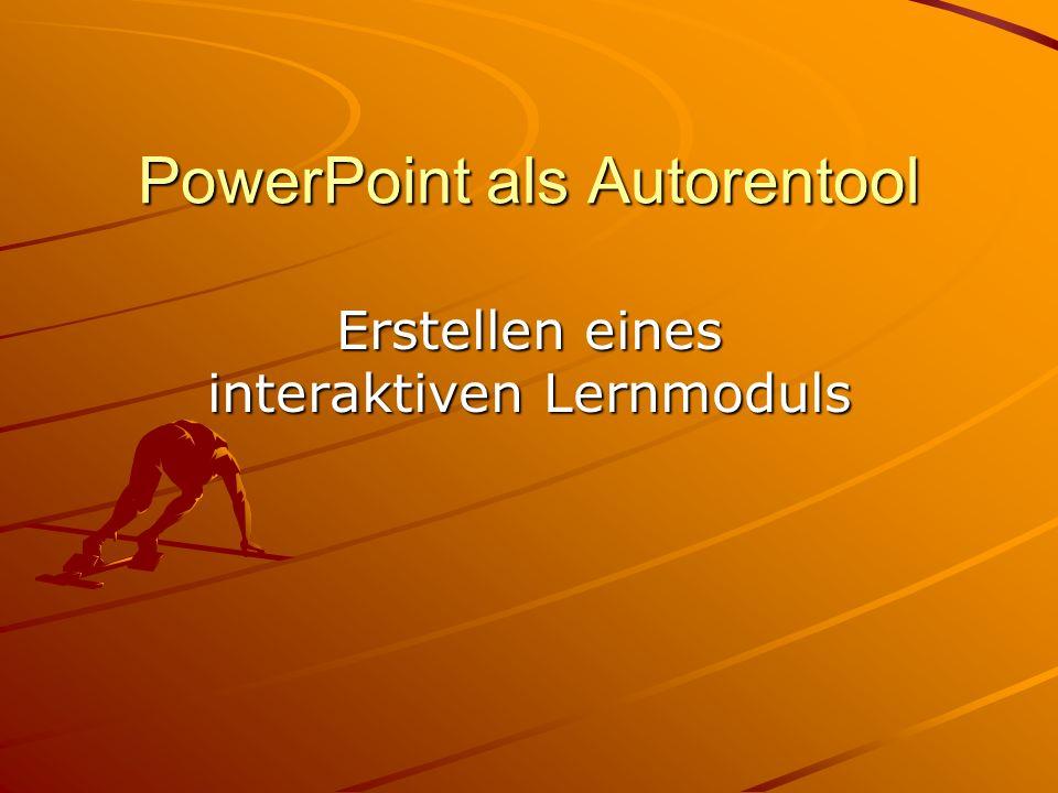 PowerPoint als Autorentool