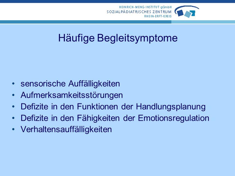 Häufige Begleitsymptome