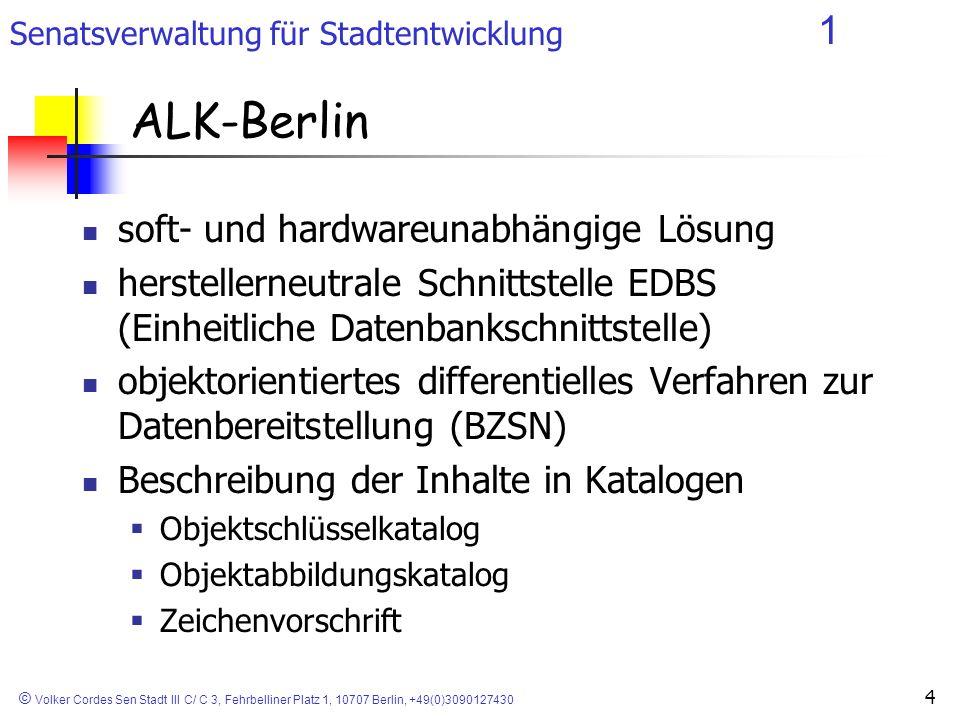 ALK-Berlin soft- und hardwareunabhängige Lösung