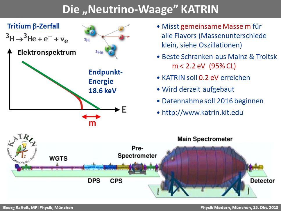"Die ""Neutrino-Waage KATRIN"