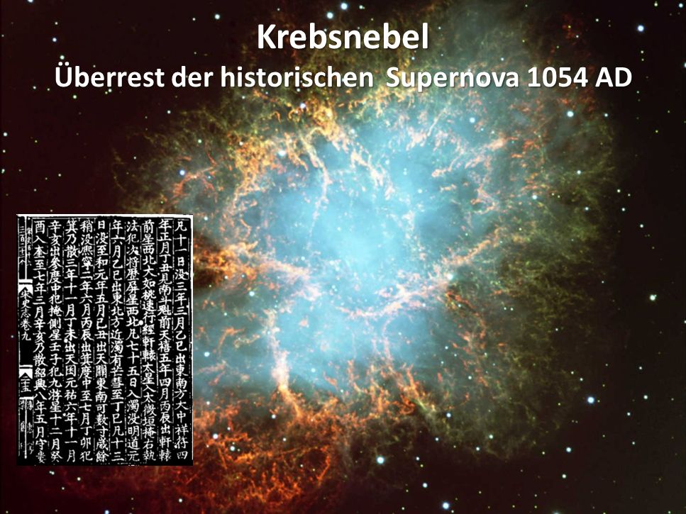 Crab Nebula – Remnant of SN 1054
