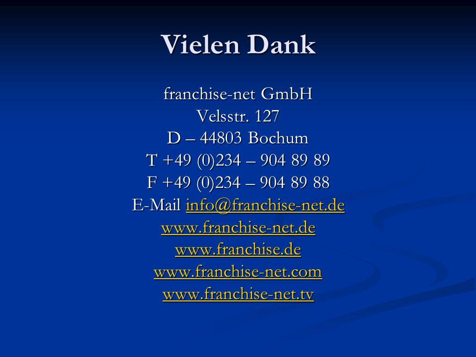 E-Mail info@franchise-net.de