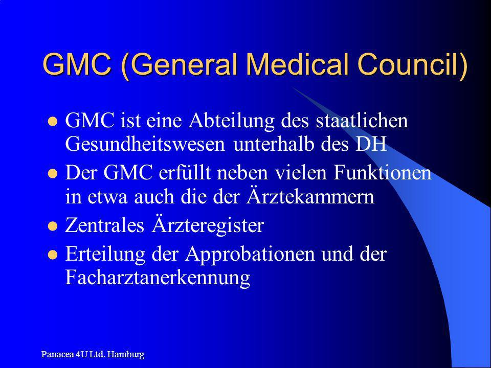 GMC (General Medical Council)