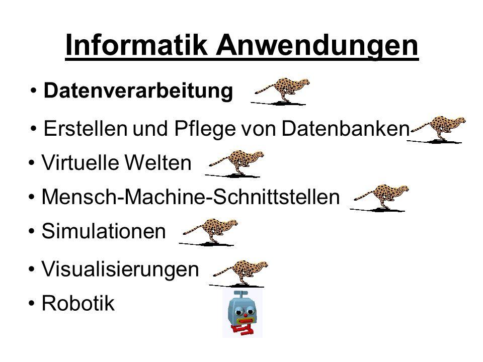 Informatik Anwendungen