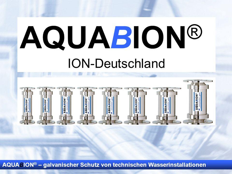 AQUABION® ION-Deutschland Dank, Vorstellung