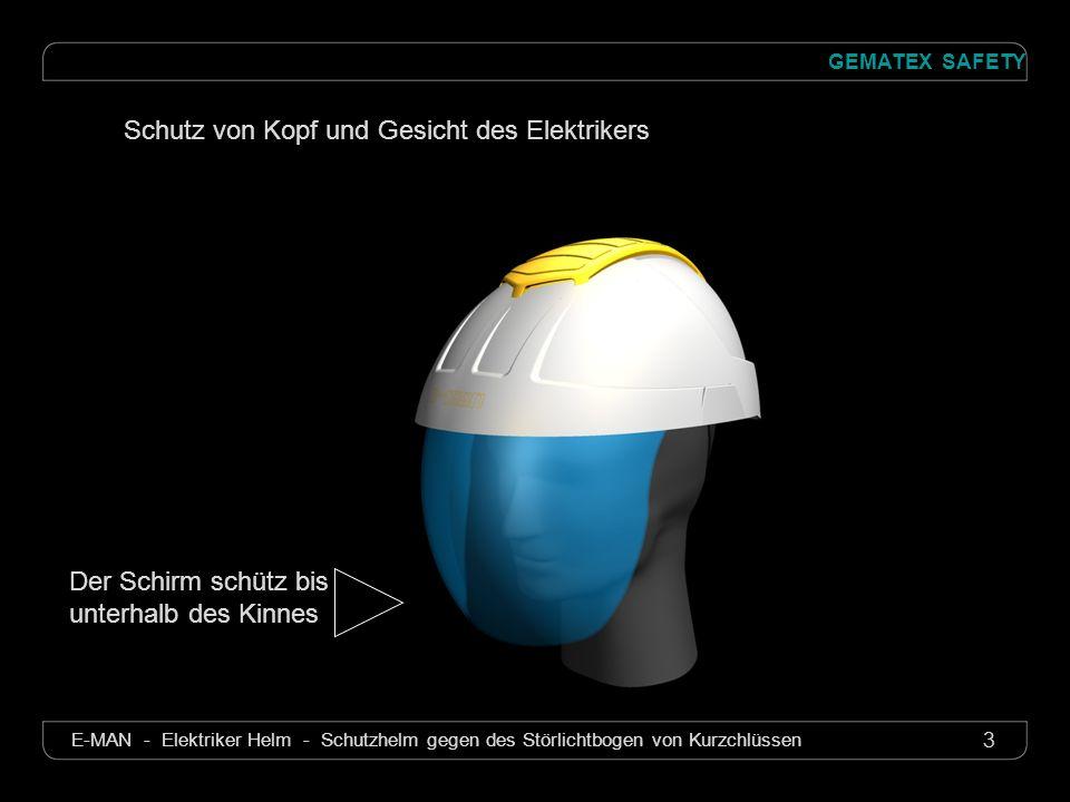 Schutz von Kopf und Gesicht des Elektrikers
