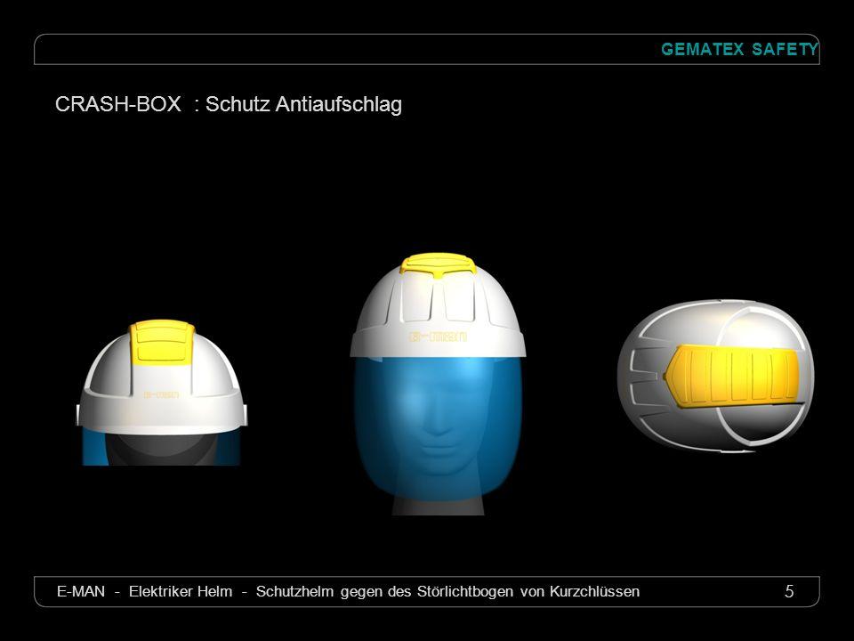 CRASH-BOX : Schutz Antiaufschlag