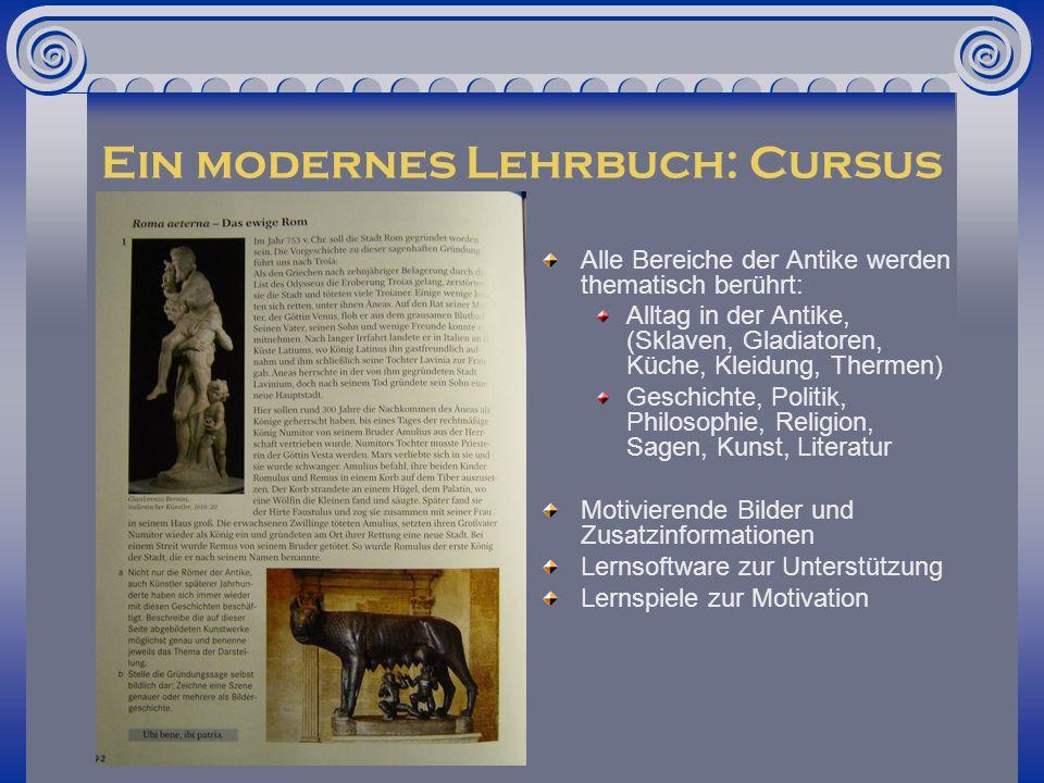 Ein modernes Lehrbuch: Cursus