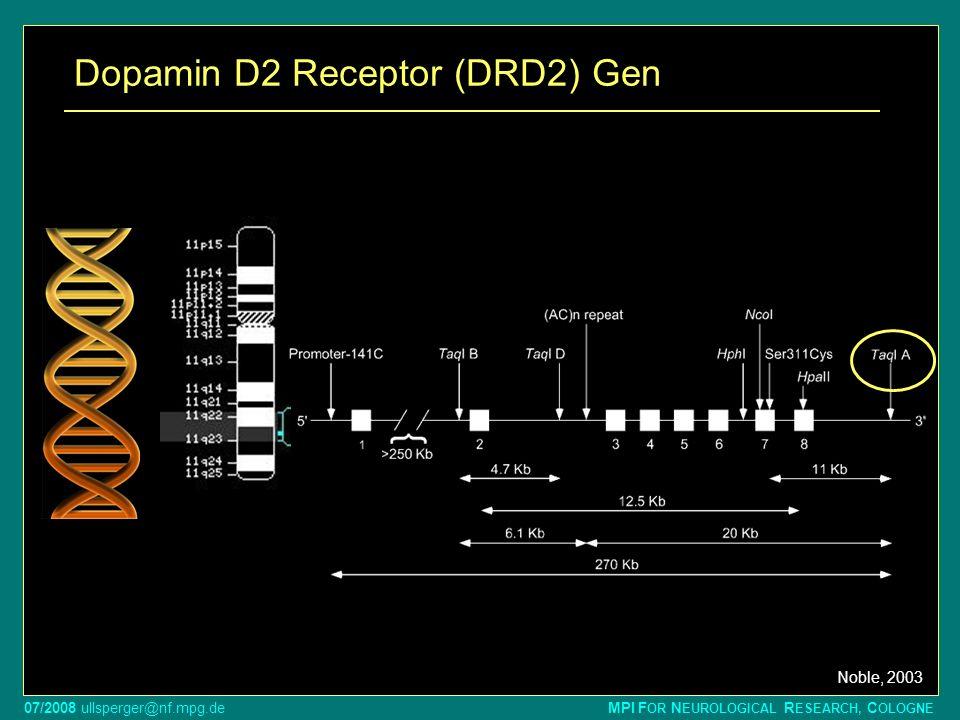 Dopamin D2 Receptor (DRD2) Gen
