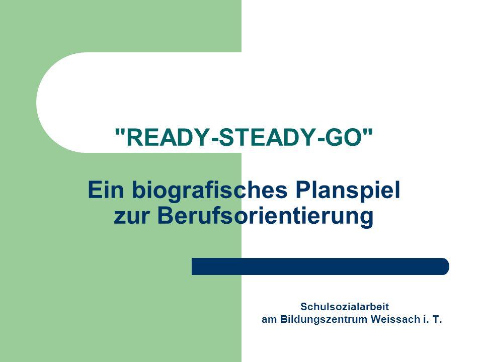 READY-STEADY-GO Ein biografisches Planspiel zur Berufsorientierung