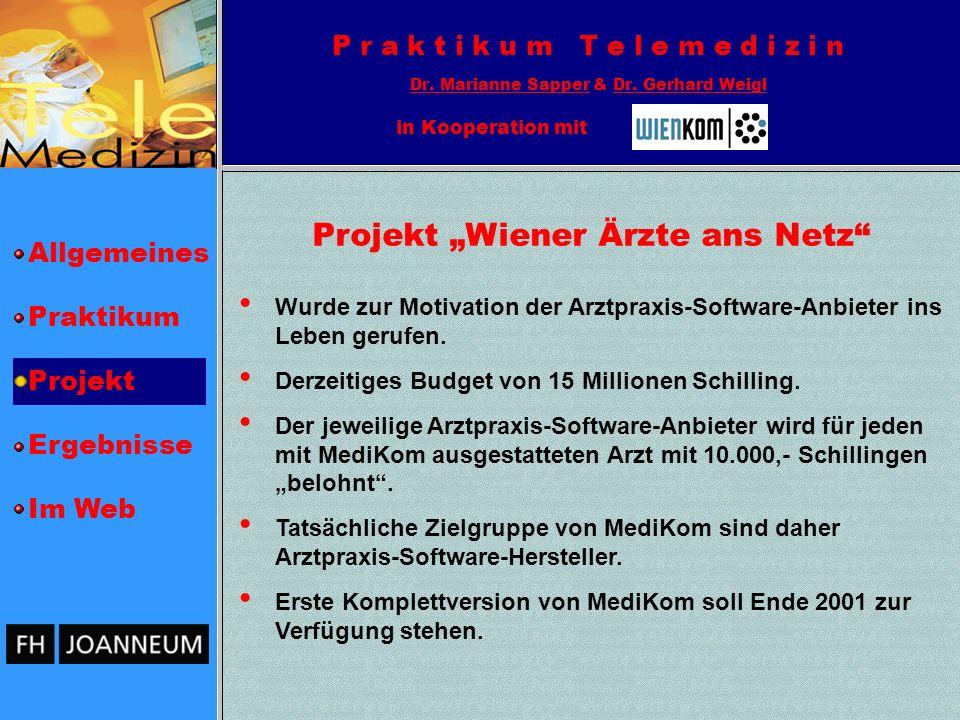 "Projekt ""Wiener Ärzte ans Netz"