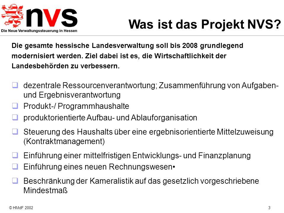 Was ist das Projekt NVS Die gesamte hessische Landesverwaltung soll bis 2008 grundlegend.