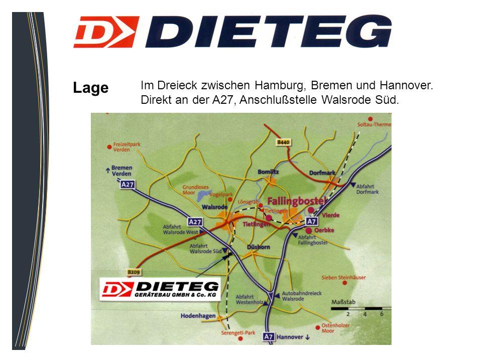 Lage Im Dreieck zwischen Hamburg, Bremen und Hannover.