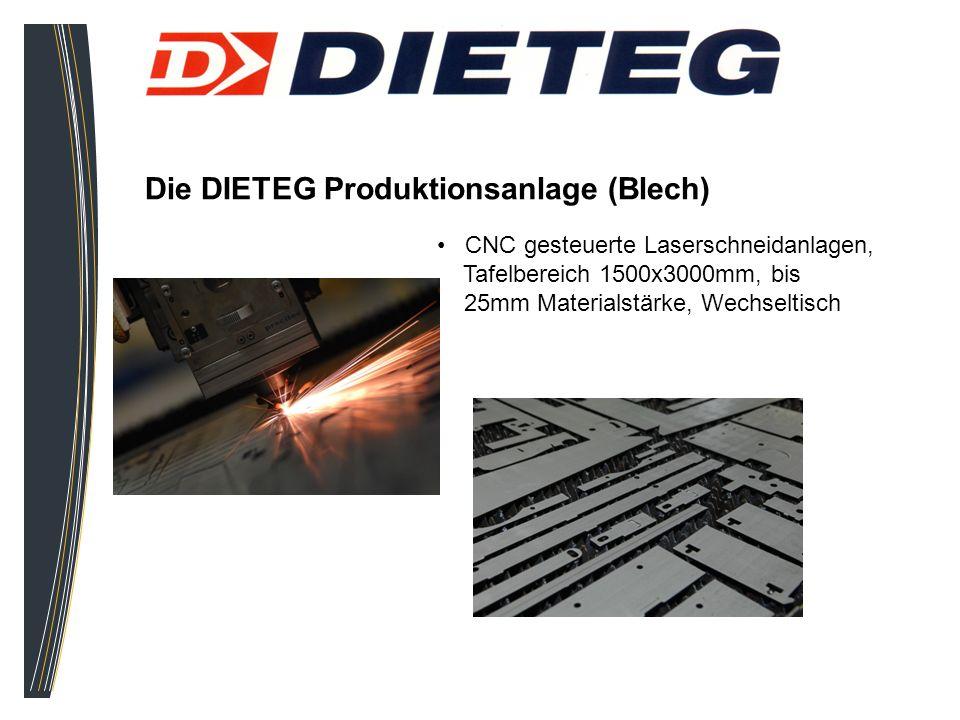 Die DIETEG Produktionsanlage (Blech)