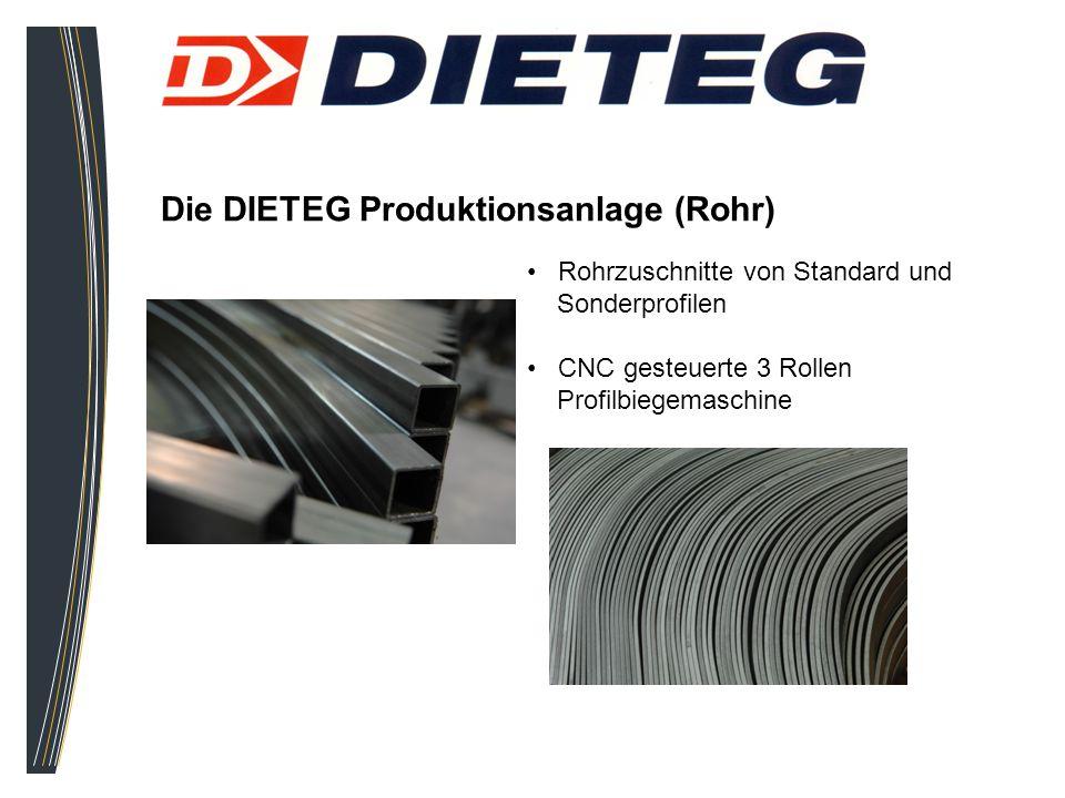 Die DIETEG Produktionsanlage (Rohr)