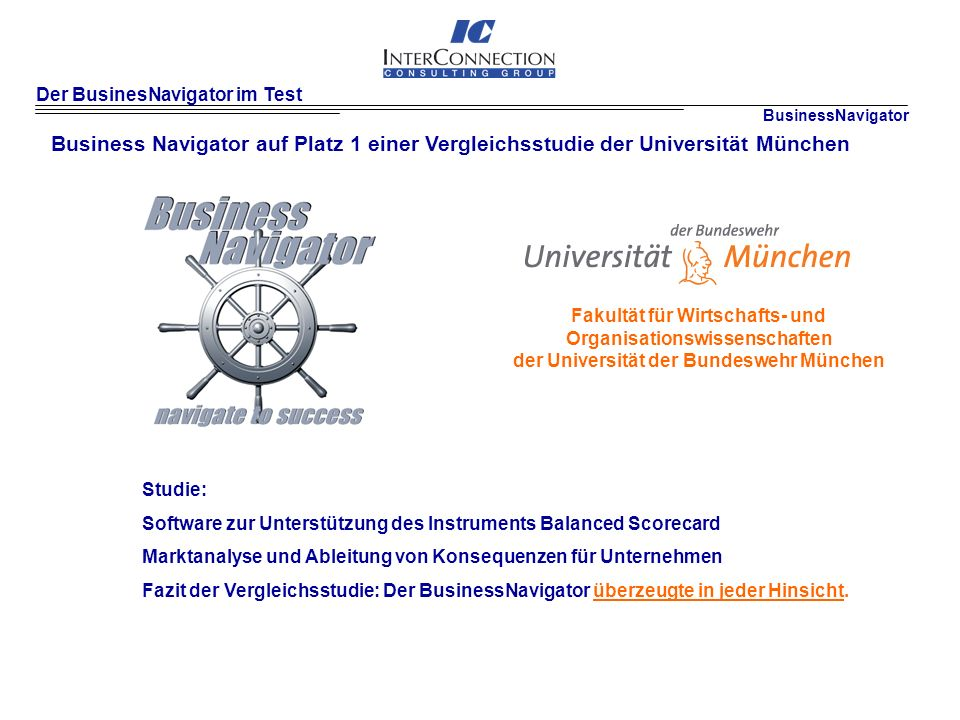 Der BusinesNavigator im Test