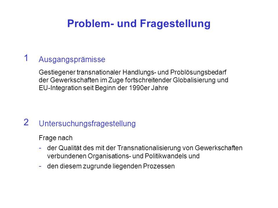 Problem- und Fragestellung