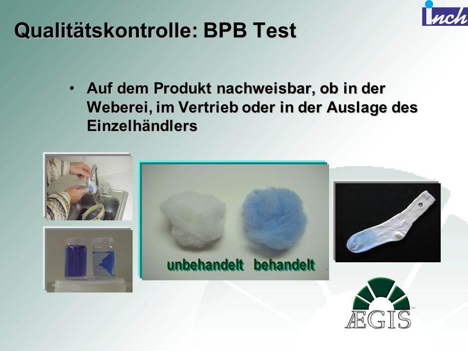 Qualitätskontrolle: BPB Test