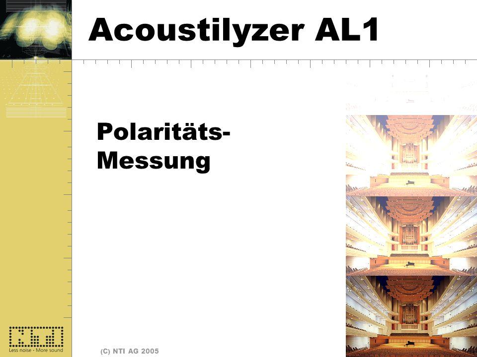 Polarität Acoustilyzer AL1 Polaritäts- Messung