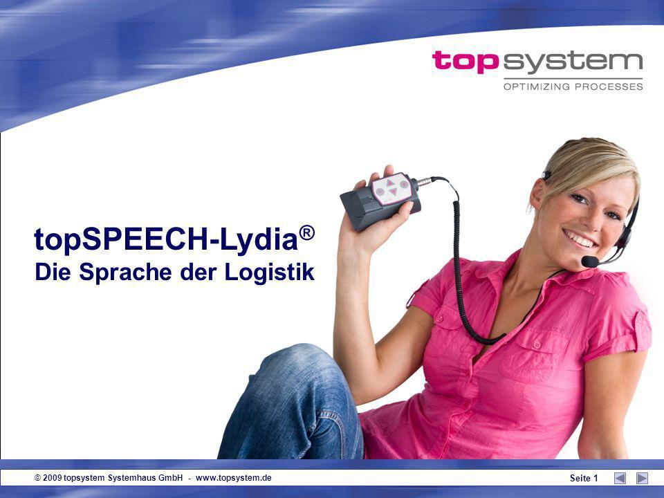 topSPEECH-Lydia® Die Sprache der Logistik