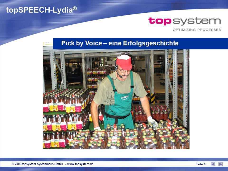 topSPEECH-Lydia® Pick by Voice – eine Erfolgsgeschichte