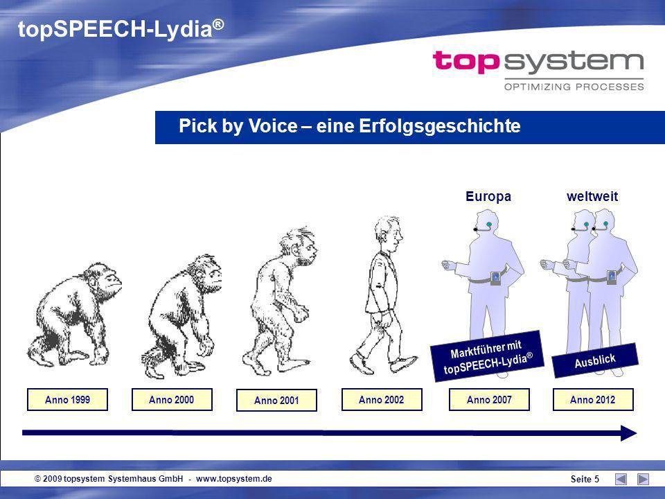 Marktführer mit topSPEECH-Lydia®