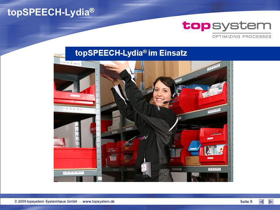 topSPEECH-Lydia® topSPEECH-Lydia® im Einsatz