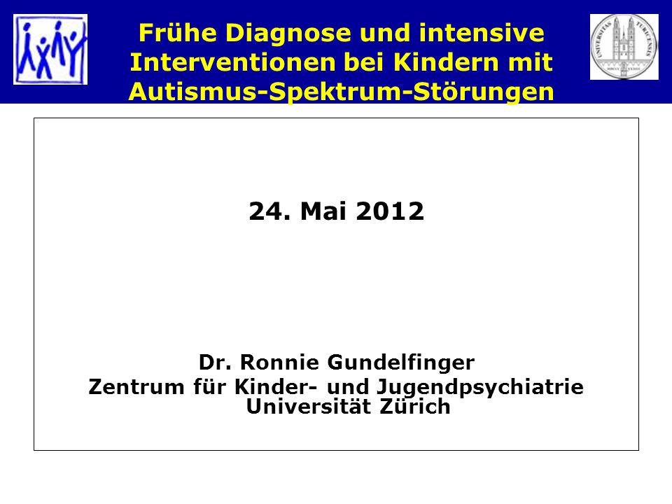 Frühe Diagnose und intensive Interventionen bei Kindern mit Autismus-Spektrum-Störungen