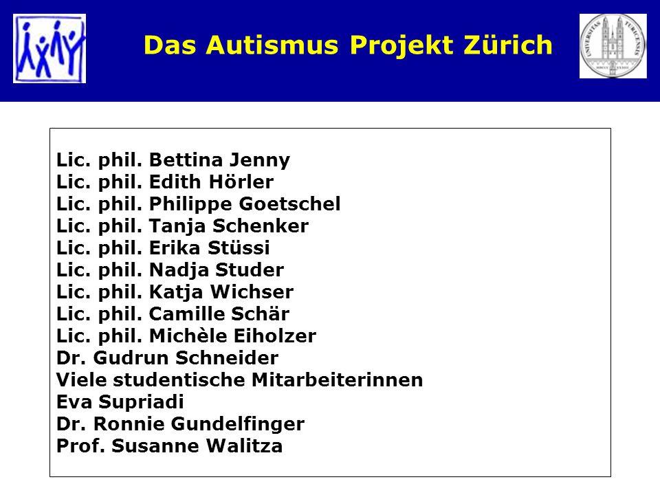Das Autismus Projekt Zürich