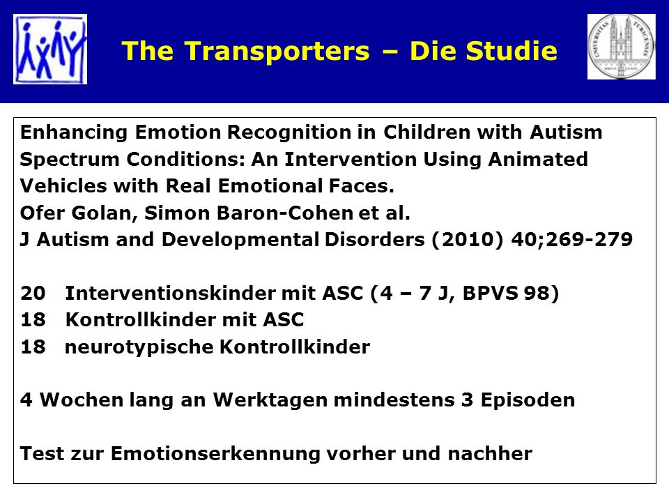 The Transporters – Die Studie