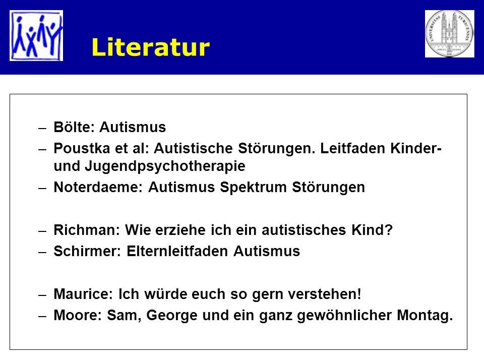 Literatur Bölte: Autismus