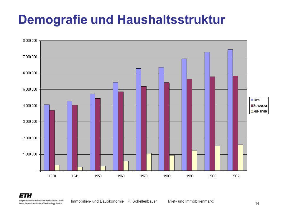 Demografie und Haushaltsstruktur