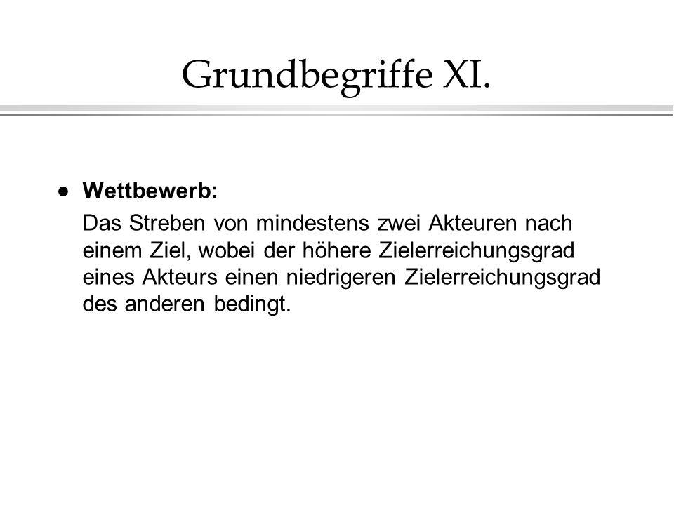 Grundbegriffe XI. Wettbewerb:
