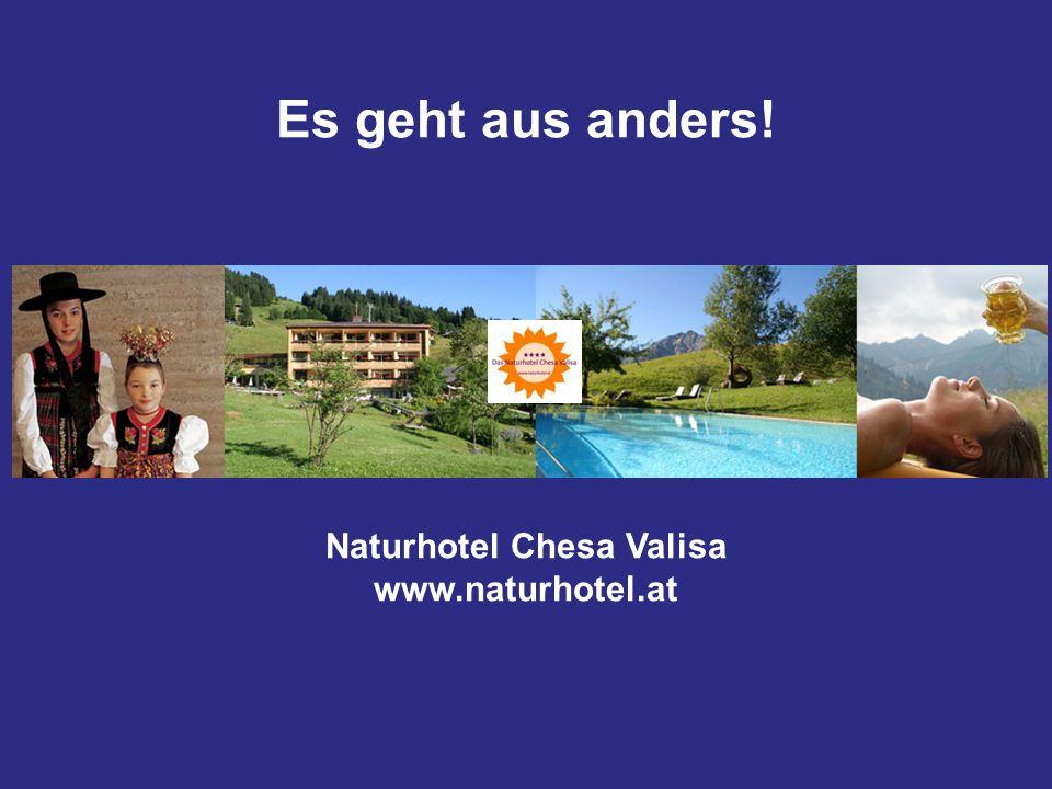 Naturhotel Chesa Valisa www.naturhotel.at