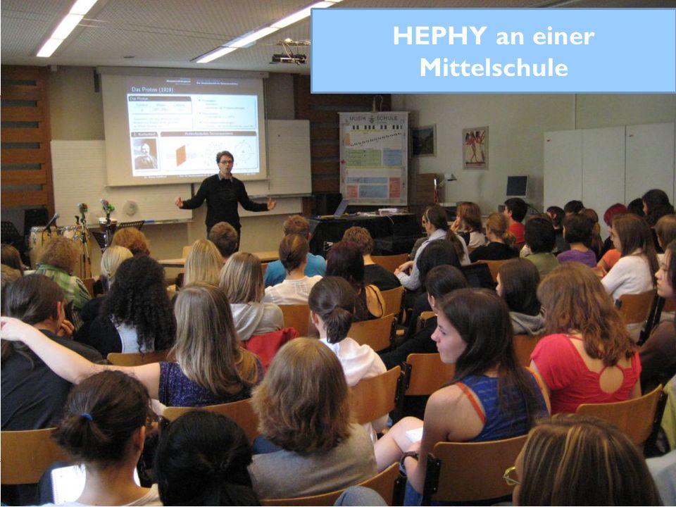 HEPHY an einer Mittelschule