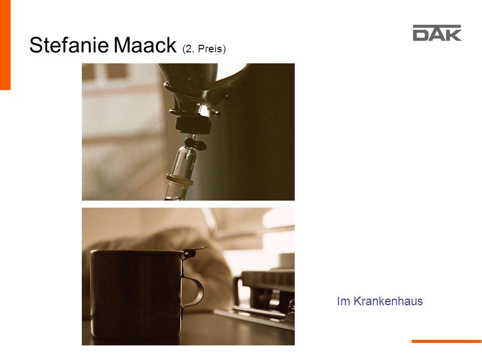 Stefanie Maack (2. Preis)