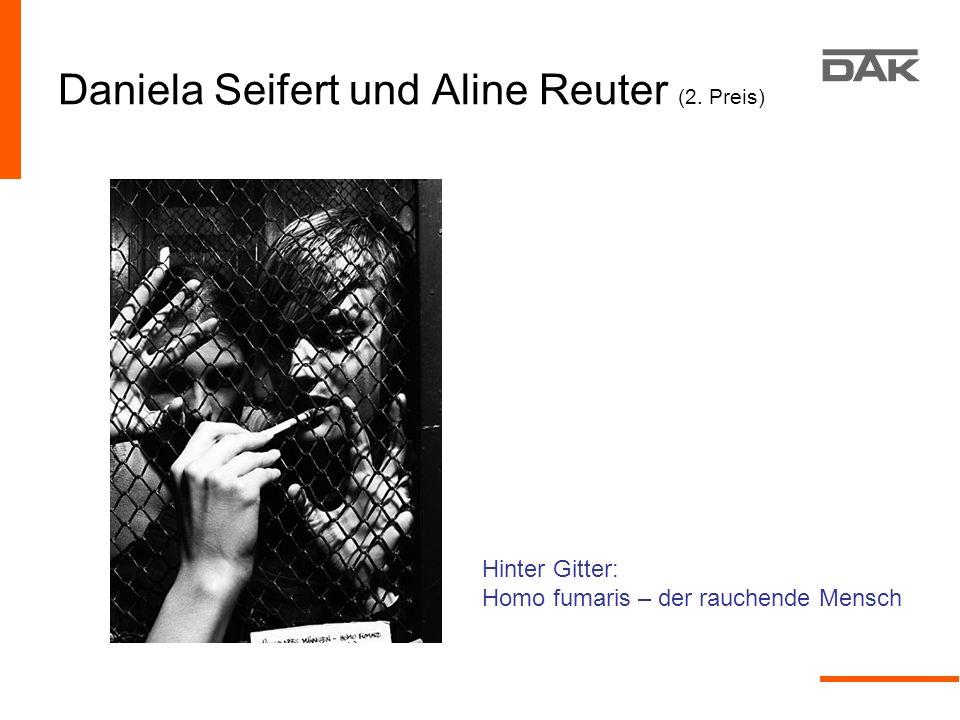 Daniela Seifert und Aline Reuter (2. Preis)