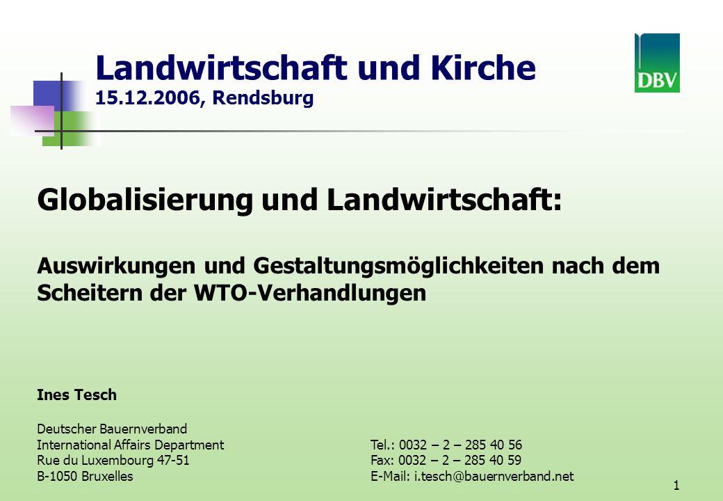 Landwirtschaft und Kirche 15.12.2006, Rendsburg